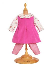 "17"" Corduroy Dress Set"