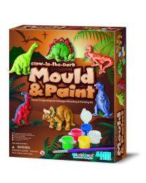 Mould & Paint, Glow-in-the-Dark Dinosaur