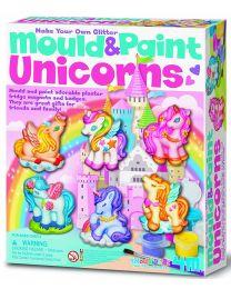 Mould & Paint Glitter Unicorns