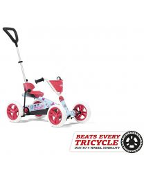 Buzzy Bloom 2-in-1 Pedal Go-Kart