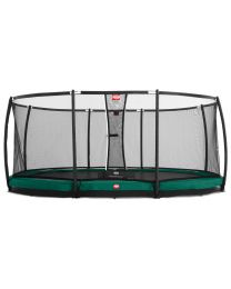Grand Champion 17ft Oval  In-Ground Trampoline with Deluxe Safety Net