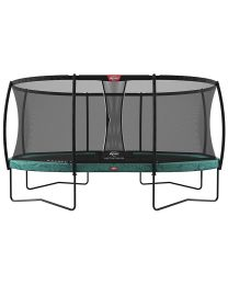 Grand Champion 17ft Oval Trampoline with Deluxe Safety Net