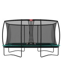 Ultim Champion 16ft Trampoline with Deluxe XL Safety Net