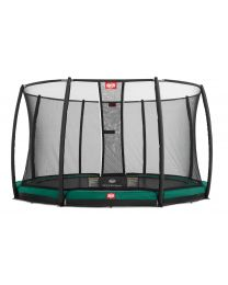 Champion 14ft In-Ground Trampoline with Deluxe Safety Net