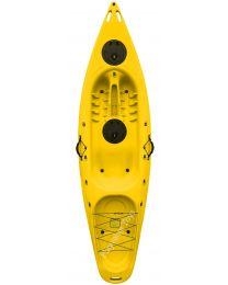 Nero, 9.4' Single Sit on Top Kayak, Yellow