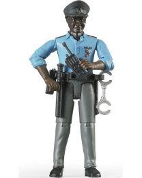 Policeman, Dark Skin, Accessories