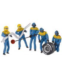 Set of Figures, Mechanics, Blue