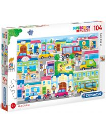 In the City, 104 Piece Puzzle