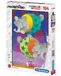 Mordillo, The Balance, 104 Piece Puzzle