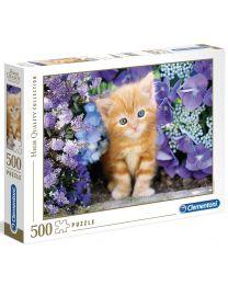 Ginger Cat, 500 Piece Puzzle