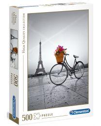 Romantic Promenade in Paris, 500 Piece Puzzle