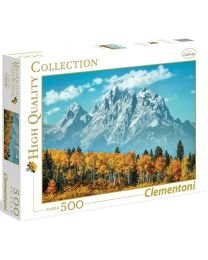 Grand Teton in Fall, 500 Piece Puzzle