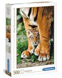 Bengal Tiger Cub, 500 Piece Puzzle