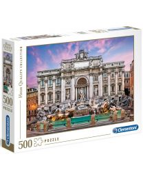 Trevi Fountain, 500 Piece Puzzle