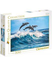 Dolphins, 500 Piece Puzzle