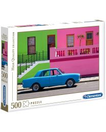 The Blue Car, 500 Piece Puzzle