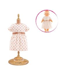 Pink Gold Dress for 14-inch Baby Doll
