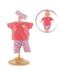 """Floral Bloom Legging Set for 14"""" Baby Doll"""