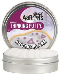 "Arctic Flare 4"" UV Reactive Thinking Putty"