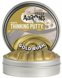 "Gold Rush 4"" Thinking Putty"