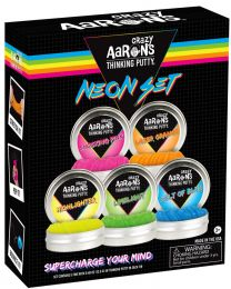 MINI Neon Thinking Putty Set