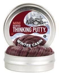 "Winter Cabin 2"" Thinking Putty"