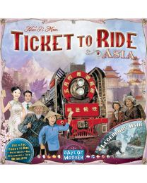 Ticket to Ride Expansion: Asia