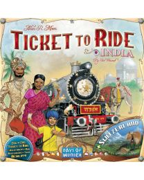 Ticket to Ride Expansion: India + Switzerland