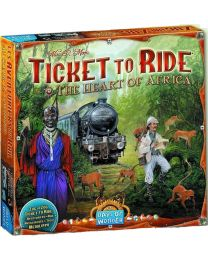 Ticket to Ride Expansion: The Heart of Africa