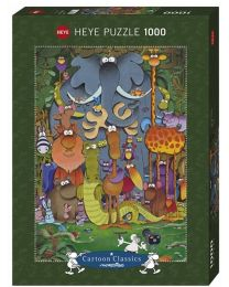 Photo, Guillermo Mordillo, 1000 Piece Puzzle