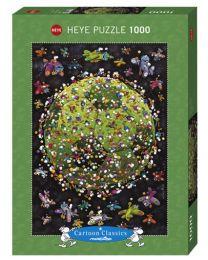 Football, Mordillo, 1000 Piece Puzzle