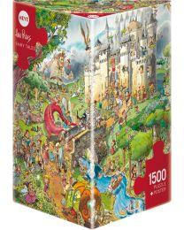 Fairy Tales, Hugo Prades, 1500 Piece Puzzle