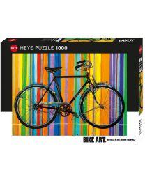 Freedom Deluxe, Bike Art, 1000 Piece Puzzle
