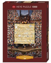 Score, Loup, 1000 Piece Puzzle