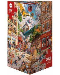 Apocalypse, Jean Jaques Loup, 2000 Piece Puzzle