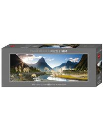 Milford Sound, Humboldt, 1000 Piece Panorama Puzzle