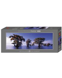Bald Cypresses, Humboldt, 1000 Piece Panorama Puzzle