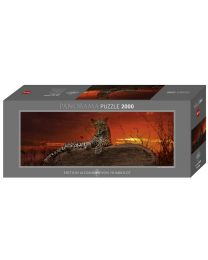 Red Dawn, Humboldt, 2000 Piece Panorama Puzzle