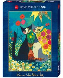 Flowerbed, Rosina Wachtmeister, 1000 Piece Puzzle