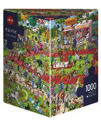 Dog Show, Tanck, 1000 Piece Puzzle