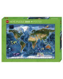 Satellite Map, 2000 Piece Puzzle