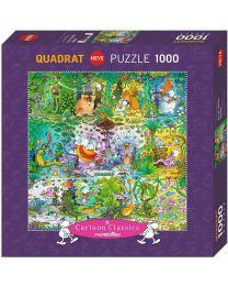 Wildlife, Guillermo Mordillo, 1000 Piece Puzzle