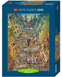 Protest!, Marino Degano, 2000 Piece Puzzle