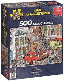 Fire!, Jan Van Haasteren, 500 Piece Puzzle