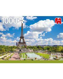 Eiffel Tower in Summer, Paris, 1000 Piece Puzzle