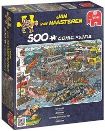 Sea Port, Jan Van Haasteren, 500 Piece Puzzle