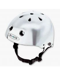 Kick Micro Helmet, Silver, Medium