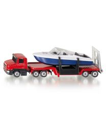 Low Loader with Boat