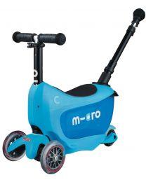 MICRO Mini2Go Deluxe Plus Kickboard, Blue