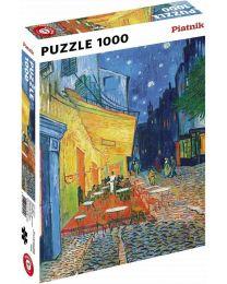 Cafe Terrace at Night, Vincent Van Gogh, 1000 Piece Puzzle